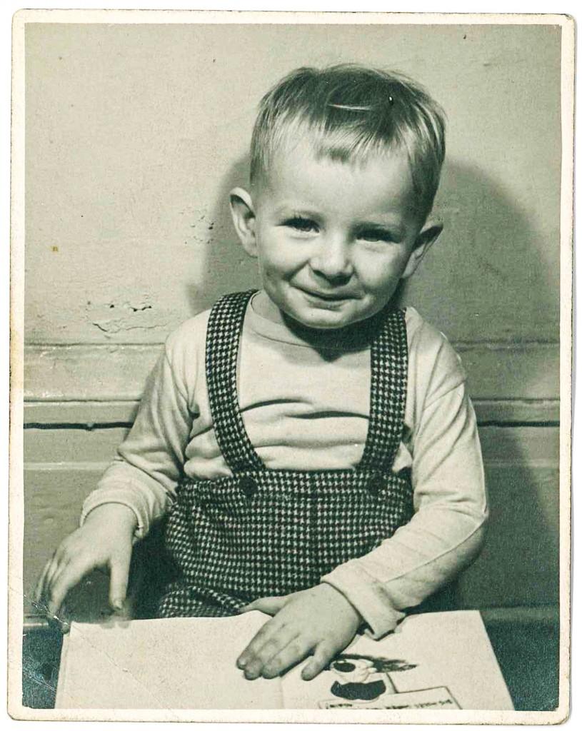 Patrick Carroll, circa 3 years old