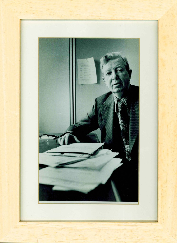 The author's father, Joseph, pictured when he was Assistant Editor of Sports Illustrated Magazine