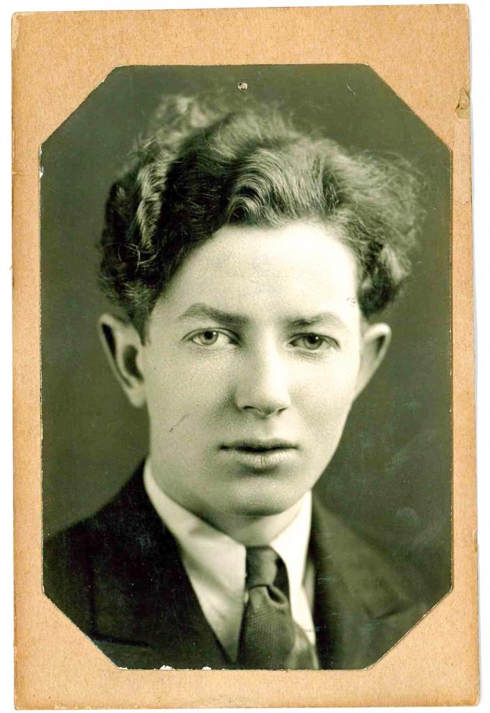 The author's father, Joseph, circa 1928