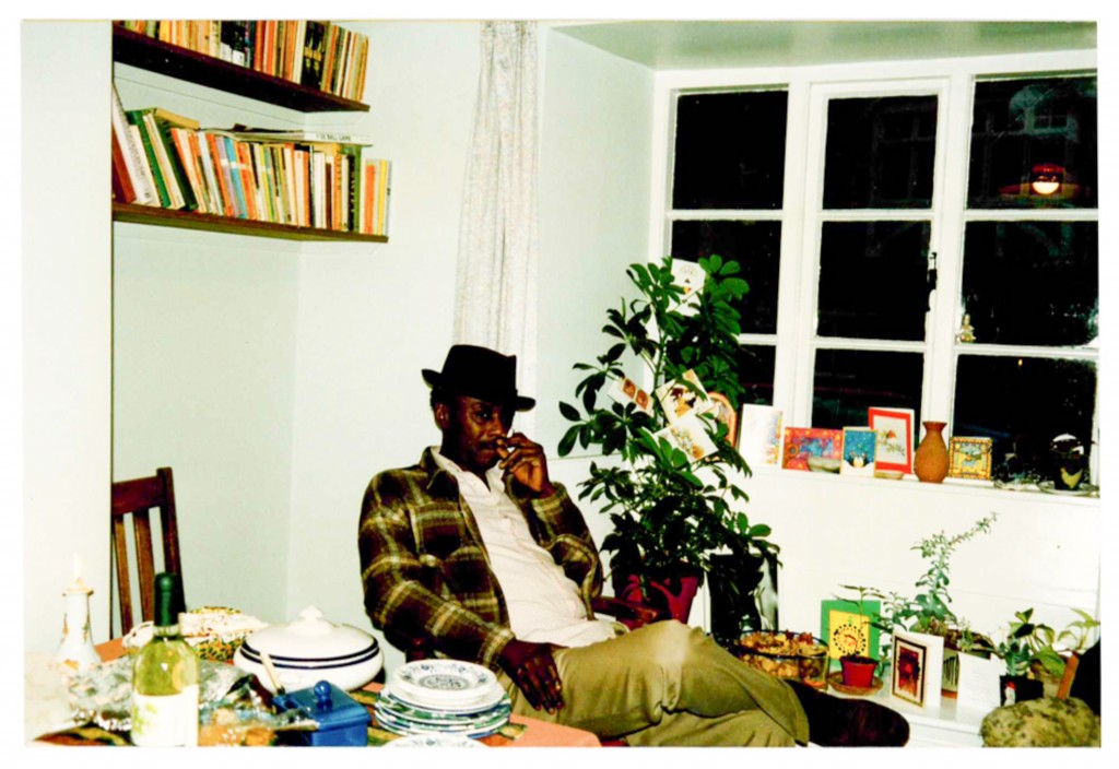 Major at the author's house in Somerset